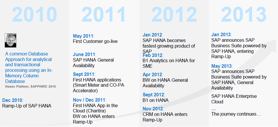 SAP HANA Success Story 2013 SAP