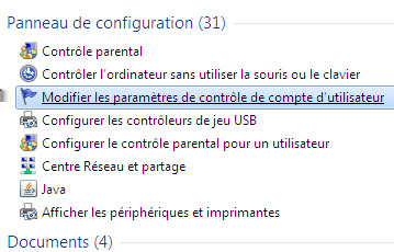 Désactiver Aero sous Windows Seven.