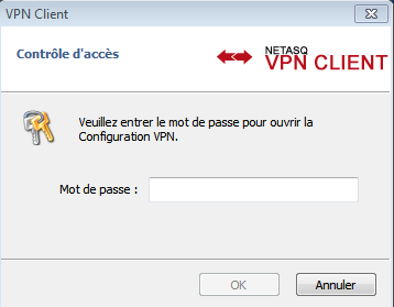 "4.2.2. Via les options d'installation L'option d'installation ""--guidefs=user "" permet de configurer le Client VPN pour qu'il affiche le Panneau des Connexions à son démarrage (plutôt que le Panneau"