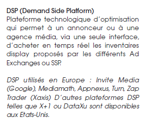 Les DSP ou Demand Side