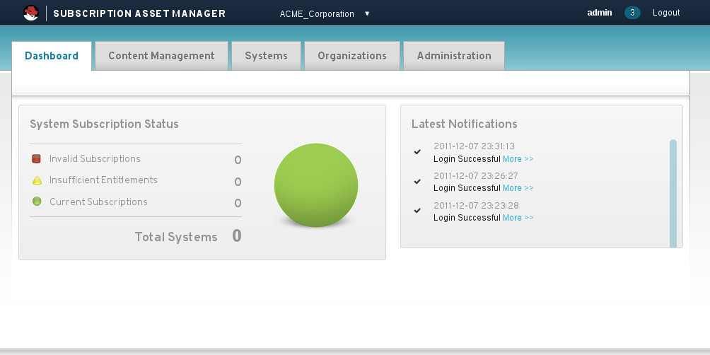 Red Hat Subscription Asset Manager 1.0 Guide d'installation 4.2.