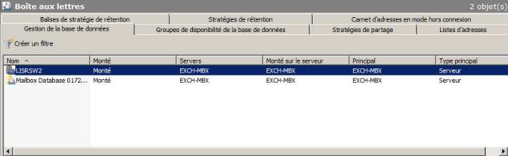 2. Les Grands rôles d Exchange server 20