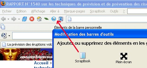 Capturer des contenus internet Scrapbook, HTTrack Objectifs Sélectionner les ressources internet accessibles aux élèves : Capturer et d'organiser une liste de pages internet Capturer et organiser un