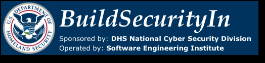 + le site web https://buildsecurityin.us-cert.