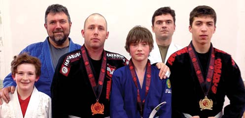 Page 16 May 4, 2015 the Aurora 14 Wing Greenwood, NS Jiu Jitsu students compete at recent open April 25, a team of seven competitors from Abhaya Brazilian Jiu Jitsu competed in the 2015 Abhaya Open