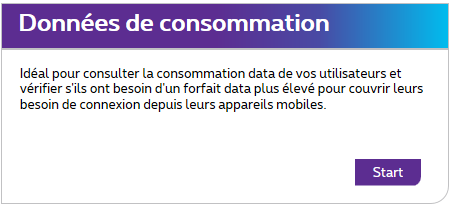 7. 3. Consommation Data 7. 3.1.