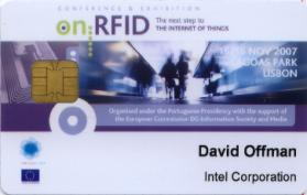Contexte Technologique - Evolution de RF/ID Portables RFID Smart-Parking EMV Contactless Smartcard 2001 2003 2007 2008 2008/9.