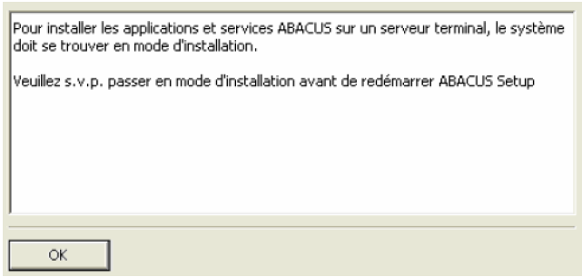 Installation sur un Terminal server 4 4.4 Java-Caching La version 2012 d ABACUS dispose d un Java-Caching Client/Serveur.