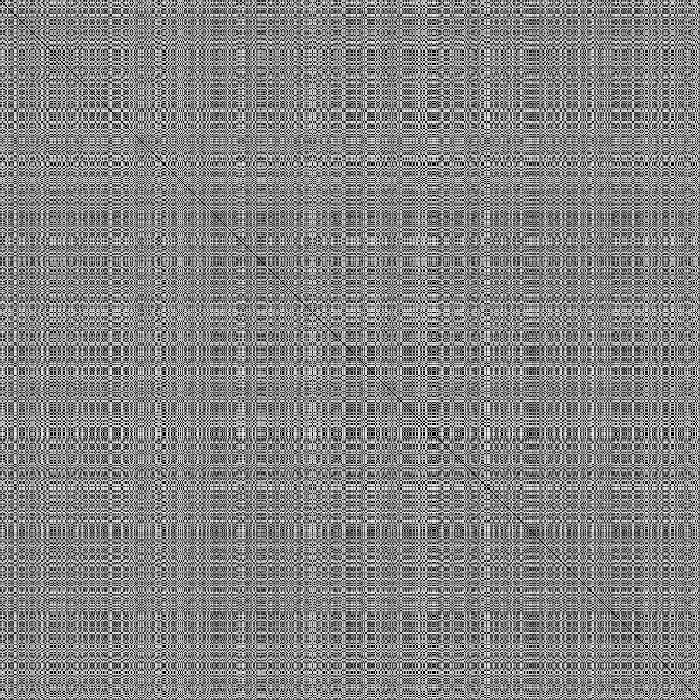 450 100 400 200 350 300 300 250 400 200 500 150 100 600 50 700 100 200 300 400 500 600 700 FIG. 4.6 Distance Matrix obtained over the evaluation learning set...).