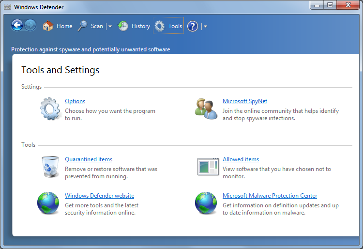 Security setting Windows Update setting 1. Open the Windows Control Panel. 2. Under System and Security, click Review your computer's status. 3. Click Windows Update on the left side of the window. 4.