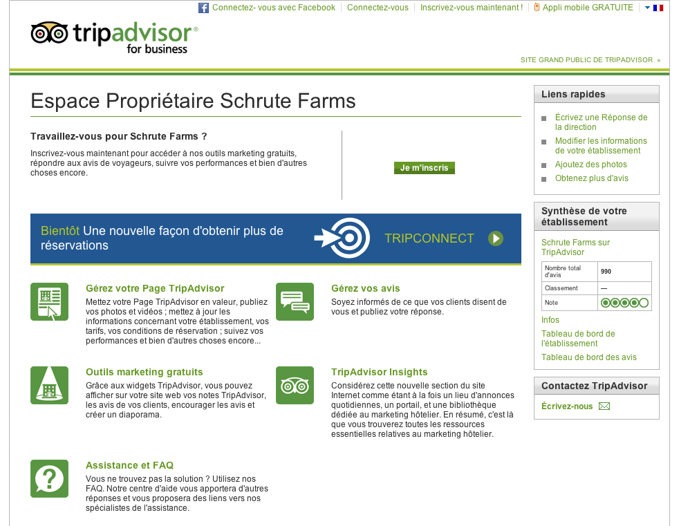 Ressources TripAdvisor for