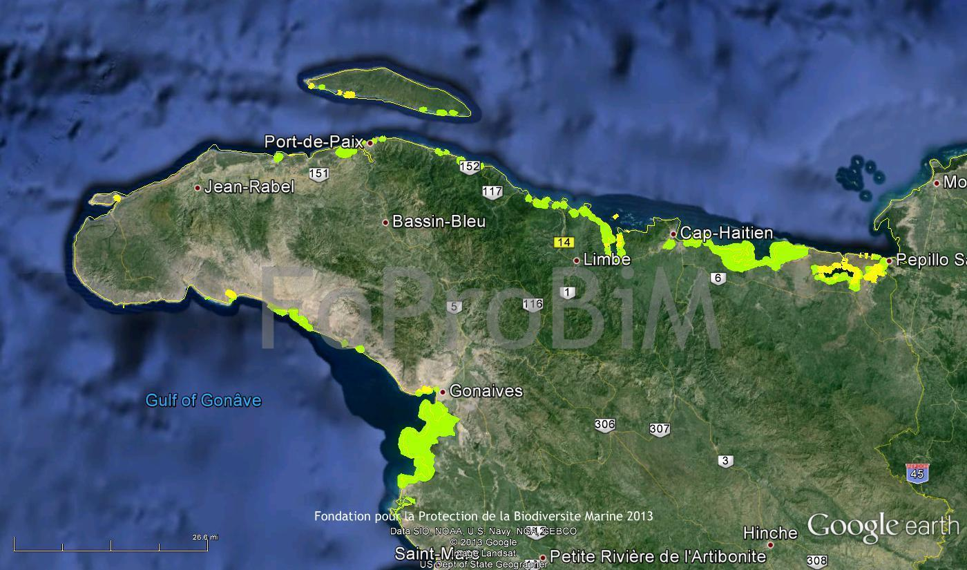 I. Introduction This report presents Haiti s first comprehensive mangrove survey with the objective of not only identifying sites where mangroves are located, but also determining sites of importance