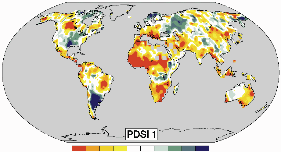 PDSI : 1900-2002 DROUGHT NMDC Normalized Multi-Band Drought Index VCADI Vegetation Condition Albedo Drought Index PDI Perpendicular Drought Index MPDI Modified Perpendicular Drought Index RDRI Remote