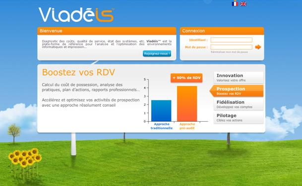 Viadeis Value Selling Une plate-forme Web en mode SaaS (accessible 24/24 x 7/7) Un outil de qualification