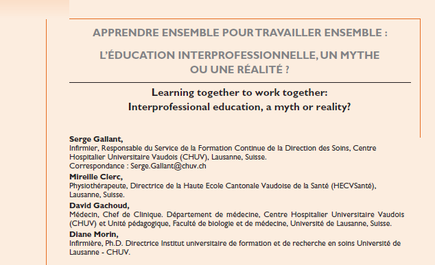 Collaboration Cela s apprend?