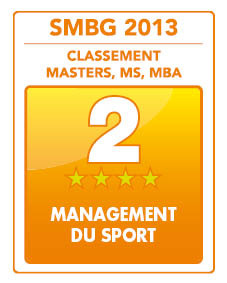 Master 2 professionnel Management des événements et des loisirs sportifs (MELS) Option marketing et communication Dossier de candidature 2ème meilleur master français en Management du