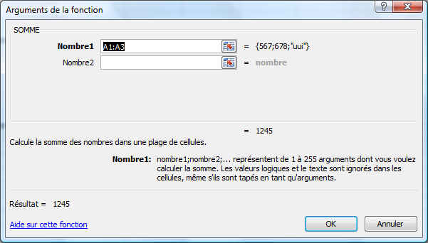 Excel 2007 Page: 28 de 47 Vérification orthographique Placer le point d insertion dans cellule A1 Révision Groupe Vérification Orthographe Corriger les mots (comme Word) OK à la fin Fonctions Placer