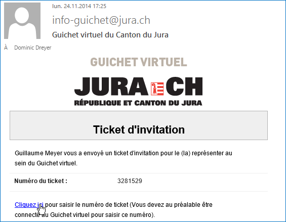 3. Activation du ticket par le collaborateur Votre collaborateur