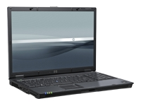 Hewlett-Packard HP Compaq Mobile Workstation 8710w - Core 2 Duo T7700 / 2.