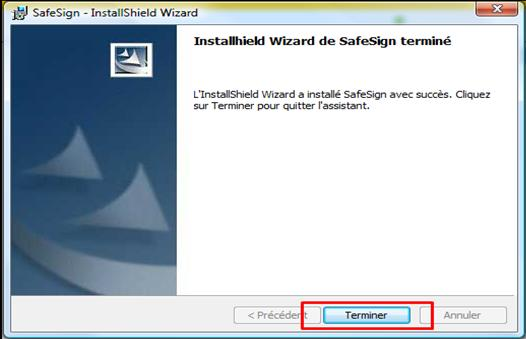 Figure 25: Installer Safesign dans Mozilla Firefox Figure 26: Installation