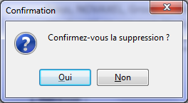 Supprimer un document 1.