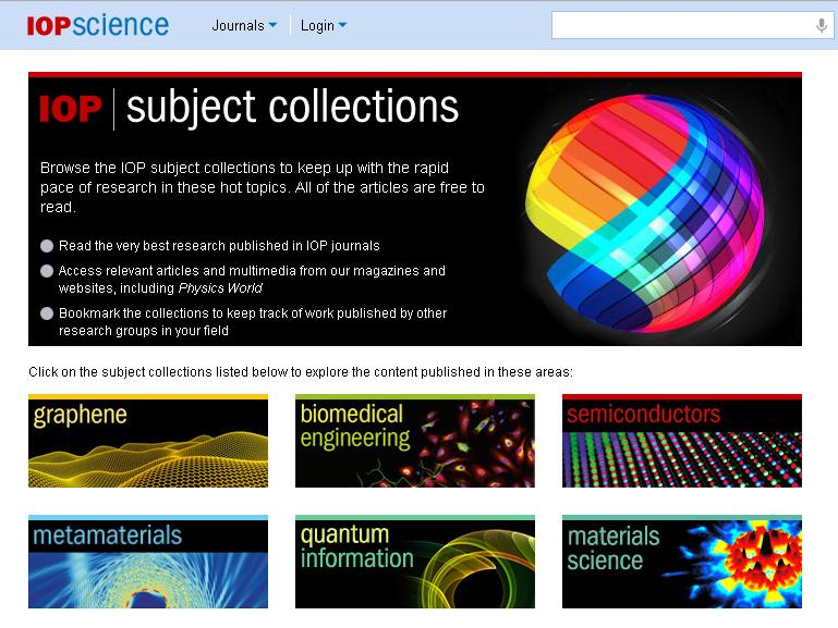1 Subject Collections Des collections