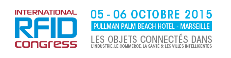 FORMULAIRE D INSCRIPTION INTERNATIONAL RFID CONGRESS 2015 5 et 6 octobre 2015, Hôtel Pullman Palm Beach Marseille EXPOSANTS ET SPONSORS SOCIETE ADRESSE DE FACTURATION Société Adresse.