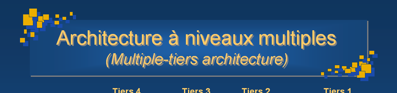 Architectures n-tiers