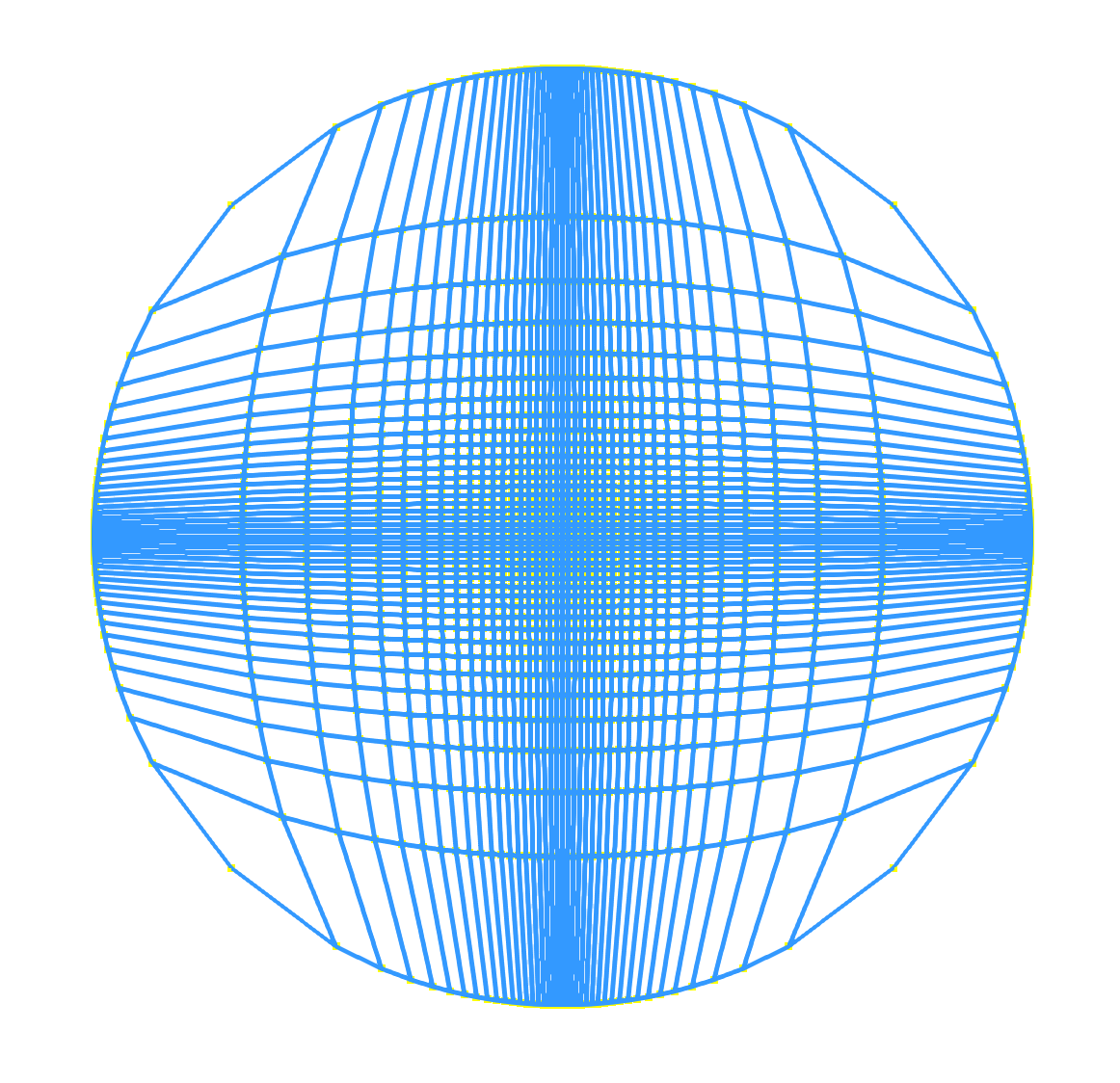 length of the minimal geodesic that joins x i to C. Then ε = ρ d (v 1, x) r 1. The sign of ε is negative if x i is in the interior of C, and is positive if x i is in the exterior.