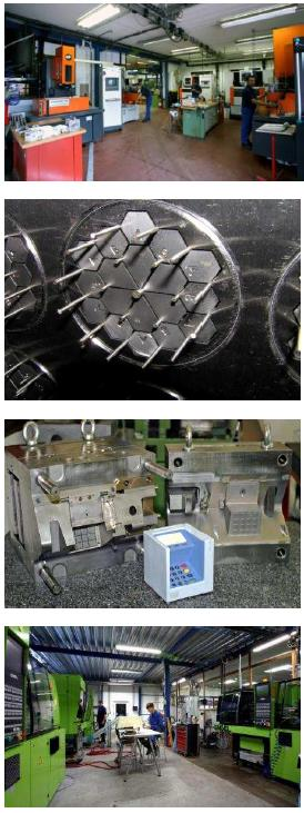 Thermoforming Aluminium and zamac injection Prototyping : Traditionally machined or Metal laser sintering
