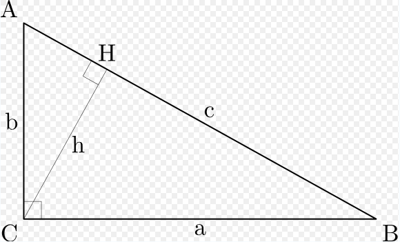 Proof using similar triangles Like many of the proofs of the Pythagorean theorem, this one is based on the proportionality of the sides of two similar triangles.