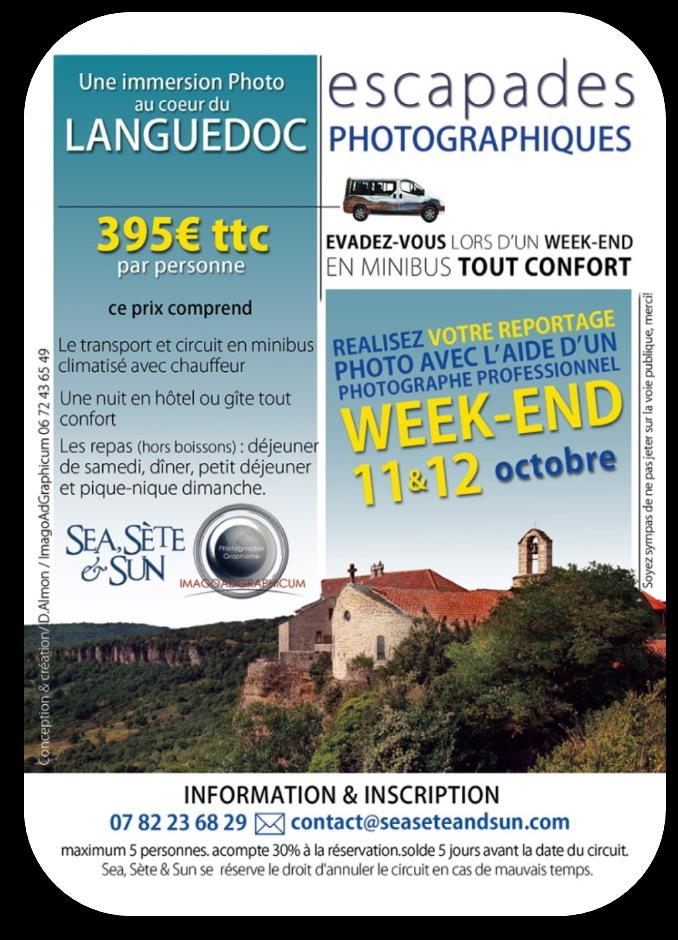 BULLETIN D INSCRIPTION ESCAPADE PHOTOGRAPHIQUE 11&12 OCTOBRE 2014 Nombre minimum de participants : 3 (5 maximum) M.