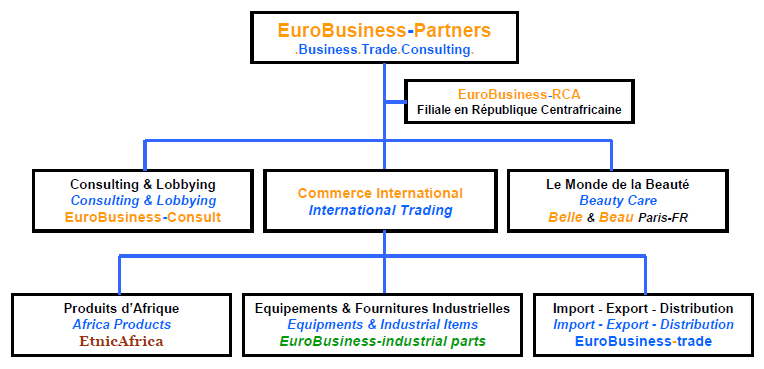 .Business.Consulting.Trade. EuroBusiness-Partners SPECIALISTE DE L AFRIQUE / SPECIALIZED IN AFRICA www.eurobusiness-fr.com Une expérience de plus de 10 années. More than 10 years of experience.