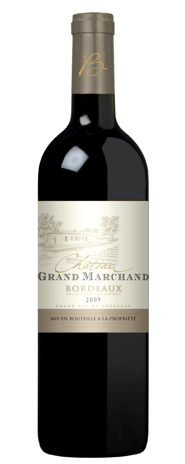 Bordeaux Producer s choice: Château Grand Marchand 2010 Informations Appellation: AOC Bordeaux Grapes: Merlot,