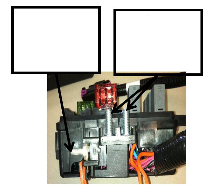 The harness includes a fuse/relay center containing all required fuses and relays, and also a 12-way bulkhead connector (with sealed mating connector) which contains outputs that may be useful to the