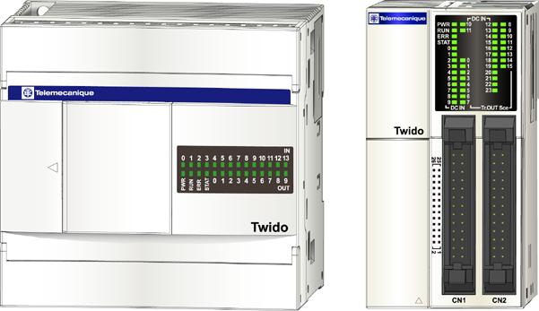 Twido Programmable Controllers Automates programmables Controllori programmabili Programmierbare Steuerungen Controladores