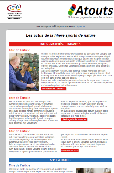 Filière sports de nature