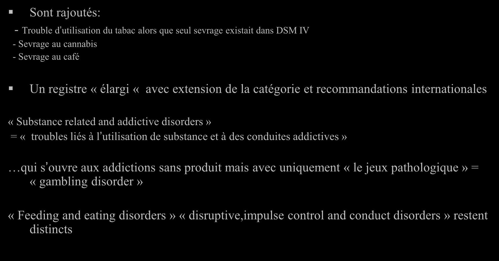 substance related disorders doc For the purposes of this policy, substance use disorder does not  the  disclosure must be documented in writing in the patient's records,.