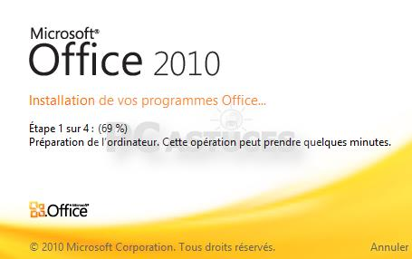 Installer Office 2010 Starter sous Windows 8/8.1 Sous Windows 8/8.