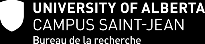 Instructions générales Programmes d allocation de fonds INTRODUCTION Présentement, le Campus Saint-Jean offre les cinq sources de financement suivantes : - Fonds de voyages - Fonds de recherche -