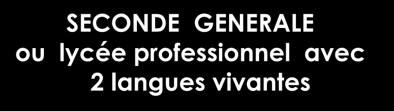 Terminale Gestion et Finance (GF) Terminale Systèmes d Information de Gestion (SIG) Terminale Mercatique (marketing)
