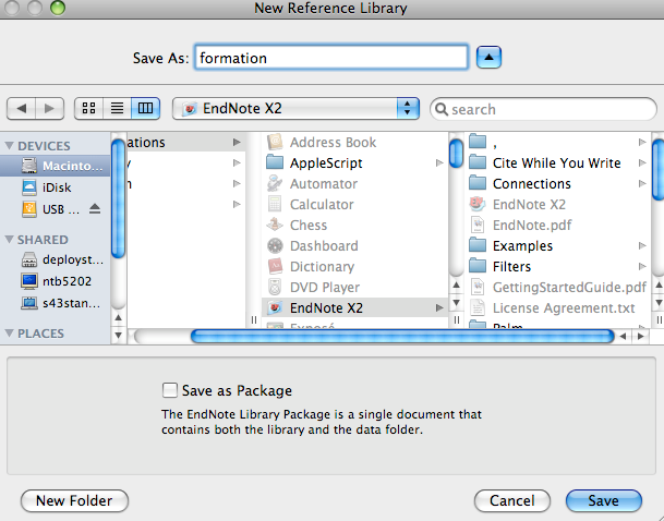 how to use endnote on mac word
