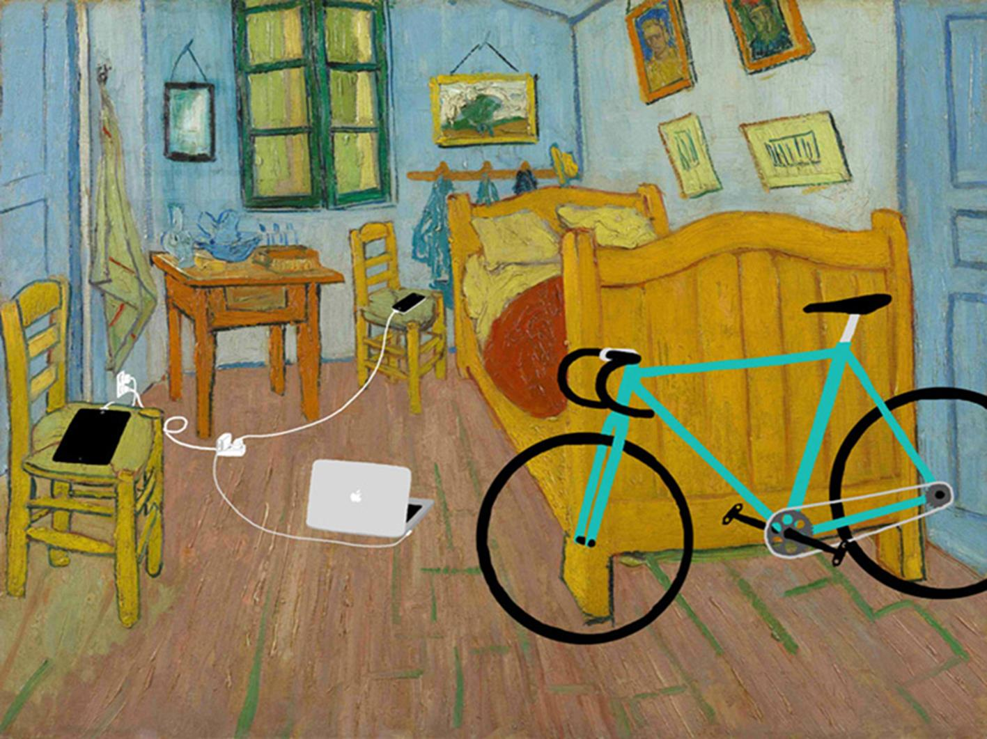 39 his room 39 d 39 apr s la chambre de vincent van gogh kim - Chambre des independants du patrimoine ...