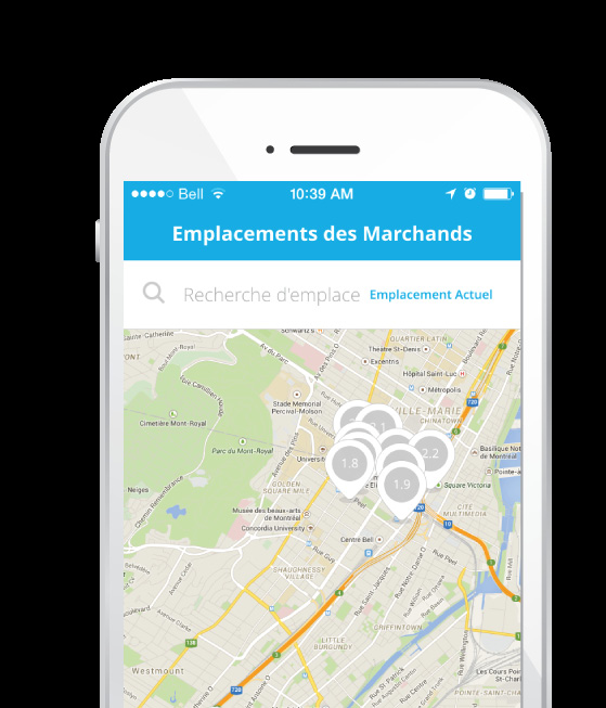 Application mobile générique L application mobile de DataCandy est une méthode simple et rentable pour le