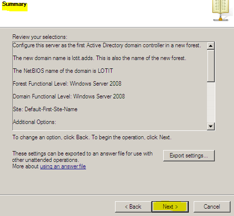 k. Directory Services Restore Mode Administrator
