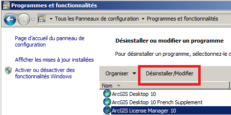 Installation et configuration d ArcGIS License Manager 10.1 et 10.2.x Configuration d ArcGIS License Manager REMARQUE : Le Guide de démarrage rapide d ArcGIS License Manager 10.