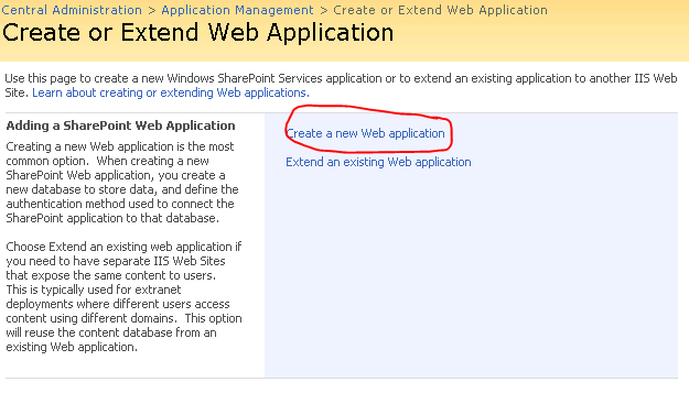 On va fournir tous les renseignements nécessaires pour accéder à la Web Application et cliquer sur OK Host Header Port http Path Security configuration (NTLM, Anonymous, ) Application Pool