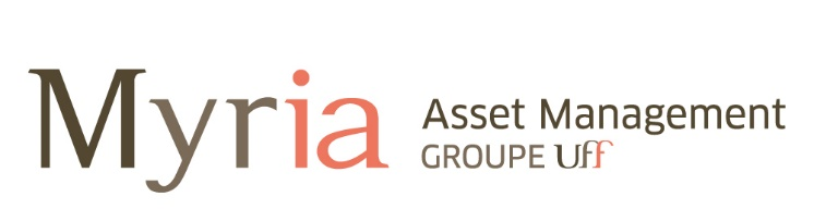 OPCVM relevant de la Directive 2009/65/CE FONDS COMMUN DE PLACEMENT UFF SELECTION ALPHA A Date de publication : 06/10/2015 MYRIA ASSET MANAGEMENT Siège social : 32 avenue d Iéna 75116 PARIS Société