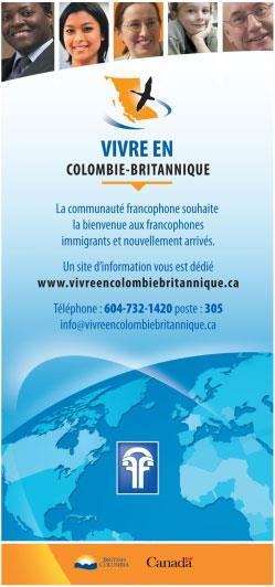 Communications tools: website and pamphlets Email: info@vivreencb.