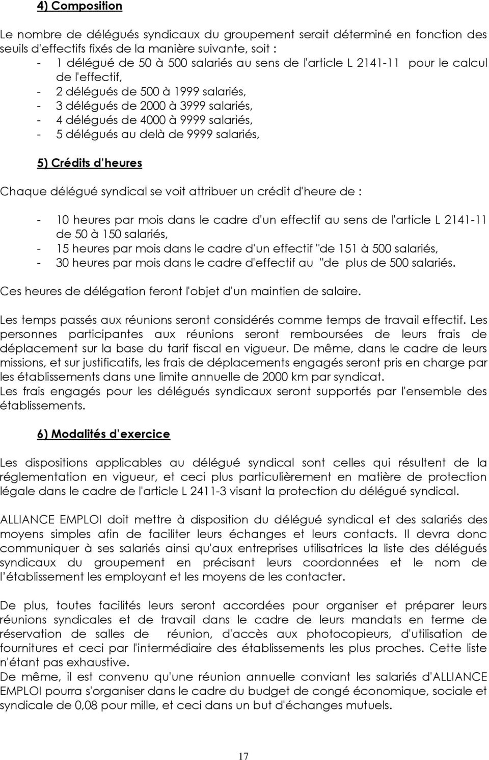 alliance emploi valenciennes